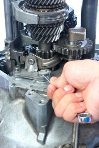 93 f150 transmission shifts hard